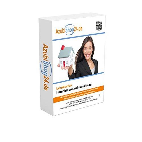 Immobilienkaufmann Prüfung / Immobilienkauffrau Prüfungsvorbereitung Lernkarten Immobilien Prüfung Lernkarten: Prüfungsvorbereitung Immobilien Prüfung Immobilienkaufmann