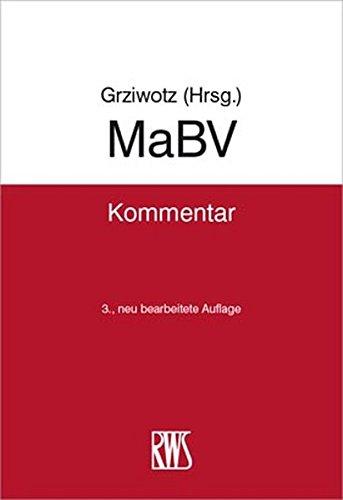 MaBV: Makler- und Bauträgerverordnung
