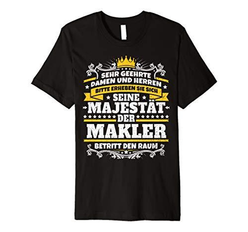 Lustiges Makler Geschenk I Job Immobilien Beruf T-Shirt