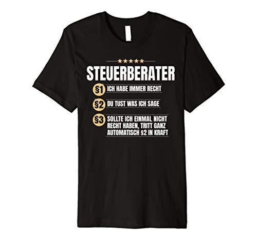 Steuerberater Geschenk Lustiges Steuer-Beratung Beruf Shirt