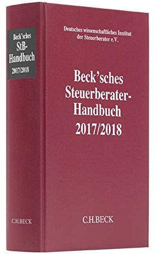Beck'sches Steuerberater-Handbuch 2017/2018